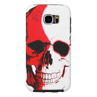 Cellular layer Skull C. Samsung Galaxy S6 Cases