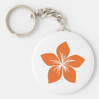 Celosia Orange Flower 9 Key Chains