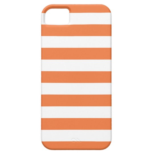Celosia Orange Summer Stripes iPhone 5/5S Case