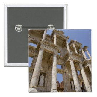 Celsus Library, built in AD 114-117 15 Cm Square Badge