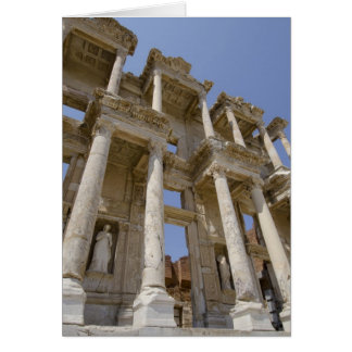 Celsus Library, built in AD 114-117 Card