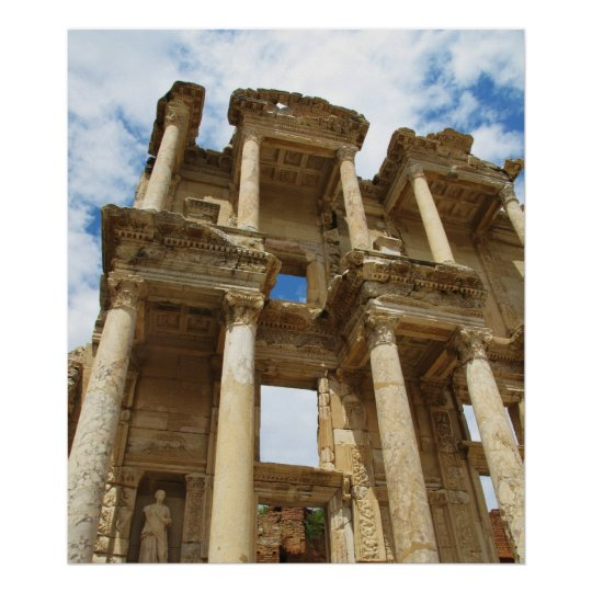 Celsus Library in Ephesus poster