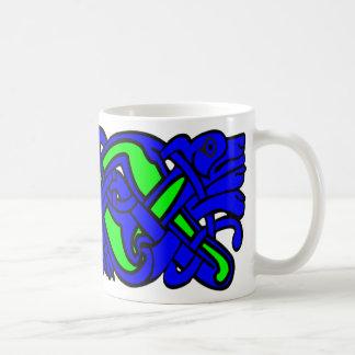 celtblue basic white mug