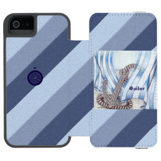 Celtic Anchor Nautical Incipio Watson™ iPhone 5 Wallet Case