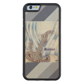Celtic Anchor Nautical Maple iPhone 6 Bumper