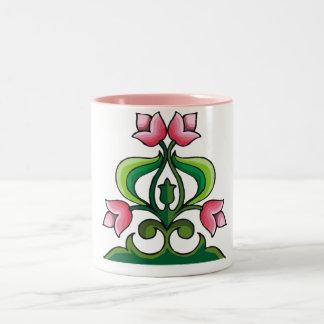 Celtic Art Pink Tulp Mug