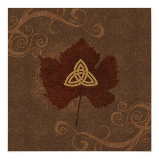 Celtic Autumn Card