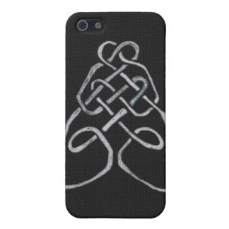 Celtic Bee Knot iPhone 5/5S Case