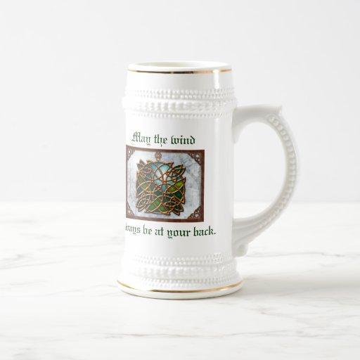 Celtic Beer Stein Mug