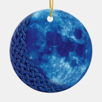 Celtic Blue Moon Ornament