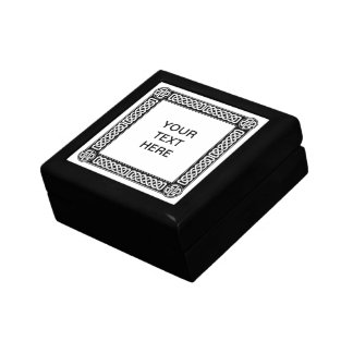Celtic border on any color gift box