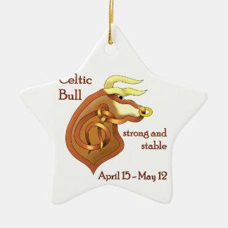 Celtic Bull Ornament
