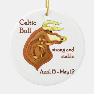 Celtic Bull Ornaments