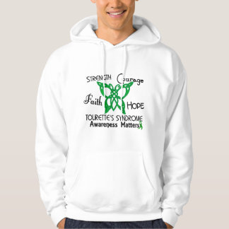 Celtic Butterfly 3 Tourette's Syndrome Hoodie