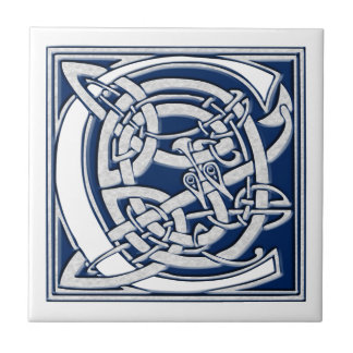 Celtic C Monogram Tile