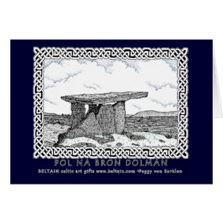 Celtic Card, Dolman Design Greeting Card
