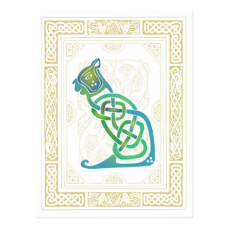 Celtic Cat Post Cards