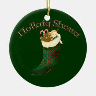 Celtic Christmas Ornament - Nollaig Shona