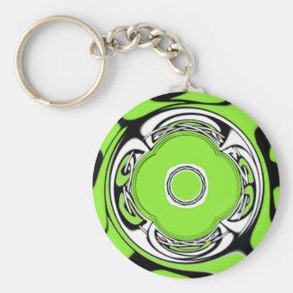 Celtic Circle Basic Round Button Key Ring
