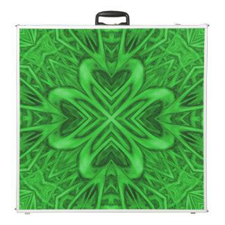 "Celtic Clover 2 Kaleidoscope 96"" Pong Table"