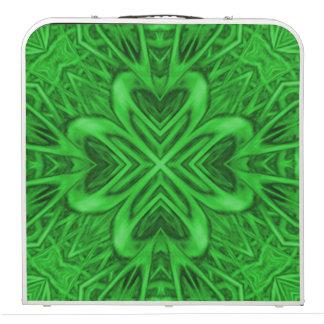 Celtic Clover 2 Kaleidoscope Tailgate Pong Table