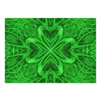 Celtic Clover Invitations, envelopes included Card