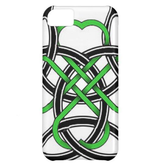 Celtic Clover iPhone 5C Case