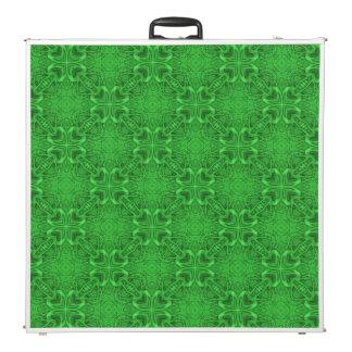 "Celtic Clover Kaleidoscope  96""  Pong Table"