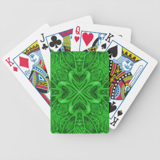 Celtic Clover Kaleidoscope Bicycle® Playing Cards