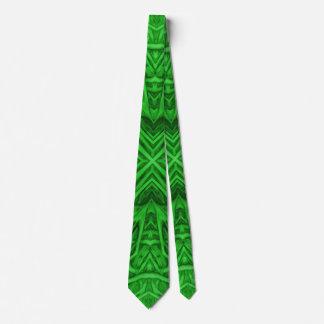Celtic Clover Kaleidoscope Colorful Ties