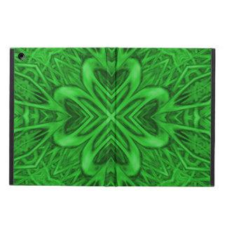 Celtic Clover Kaleidoscope iPad Air Cases