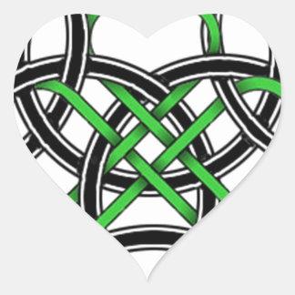 Celtic Clover Sticker