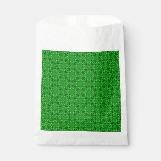 Celtic Clover Vintage Kaleidoscope  Favor Bags