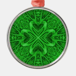 Celtic Clover  Vintage Kaleidoscope Ornaments