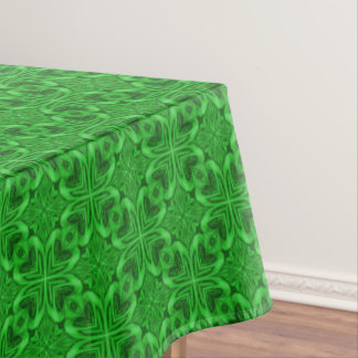 Celtic Clover Vintage Kaleidoscope    Tablecloth