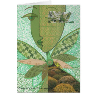 Celtic Collage Greeting Card