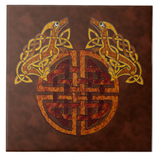 Celtic Collage Tile