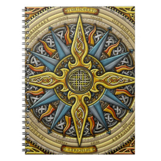 Celtic Compass Notebook