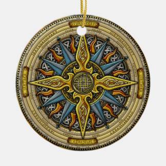 Celtic Compass Ornament