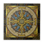 Celtic Compass Tile