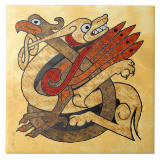 Celtic Creatures Tile