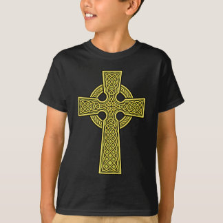 Celtic Cross 2 gold T-Shirt