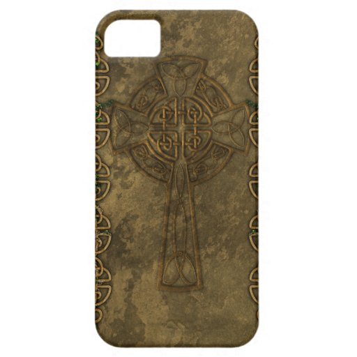 Celtic Cross and Celtic Knots iPhone 5 Case