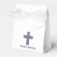 Celtic Cross Baptism Favour Box