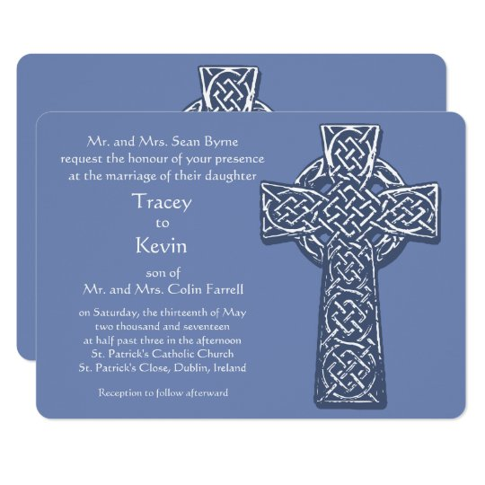 Celtic Cross - Blue Card