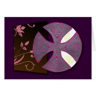 Celtic Cross (Book of Durrow) Greeting Card