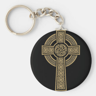 Celtic Cross by Bannigan Artworks Key Ring