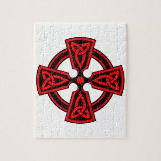 CELTIC CROSS - CELT/IRISH/IRELAND/IRISH/IRISHMAN PUZZLE