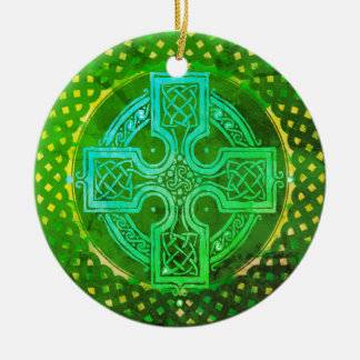 Celtic Cross Christmas Ornament