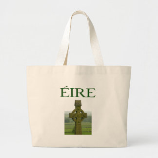 Celtic Cross Eire Irish Shirts and gifts Tote Bags